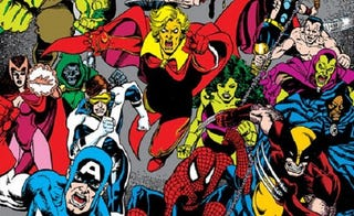 Illustration for article titled A History of Marvel Crossovers: The Dark Age