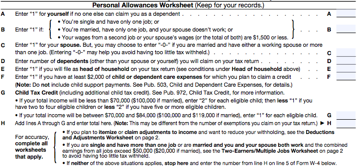 A Beginner's Guide to Filling out Your W-4