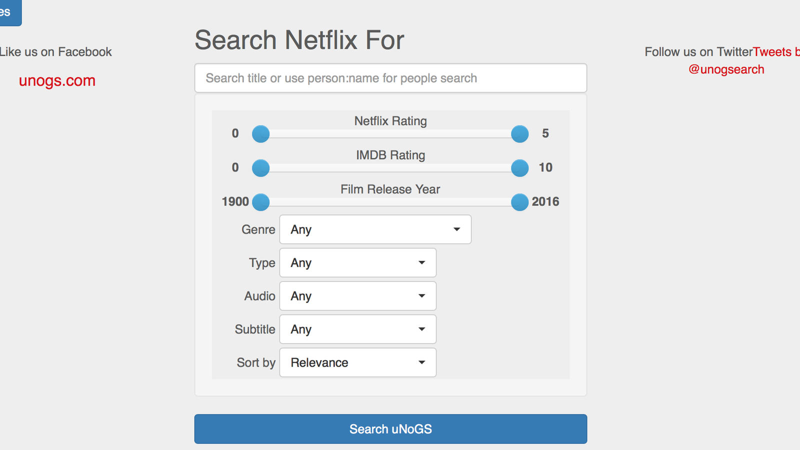 This Site Lets You Search the Worldwide Netflix Library