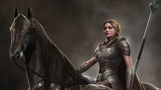 Illustration for article titled Meet the Valkyrie that was almost in Thor: The Dark World