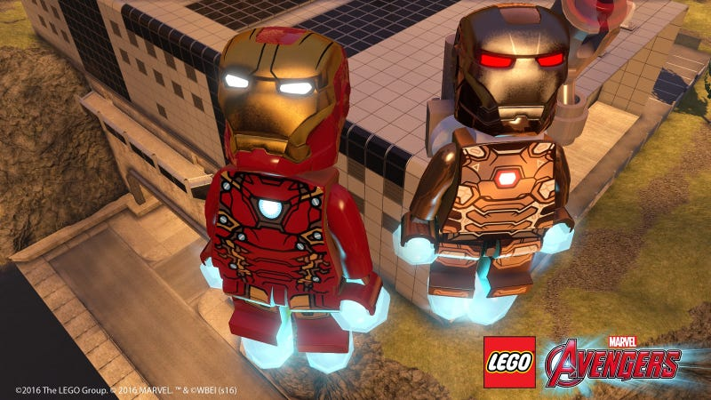 Illustration for article titled PlayStations Get Free Civil War And Ant-Man DLC For LEGO Avengers