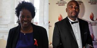 Florence Ngobeni-Allen (courtesy of Florence Ngobeni-Allen); Amon Maseko (Philanthropy SA)