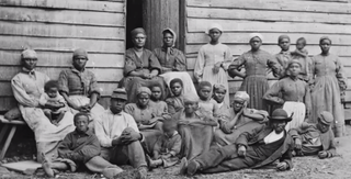 Cumberland Landing, Va., group of fugitive slaves at Foller's House (1862)James F. Gibson/Library of Congress