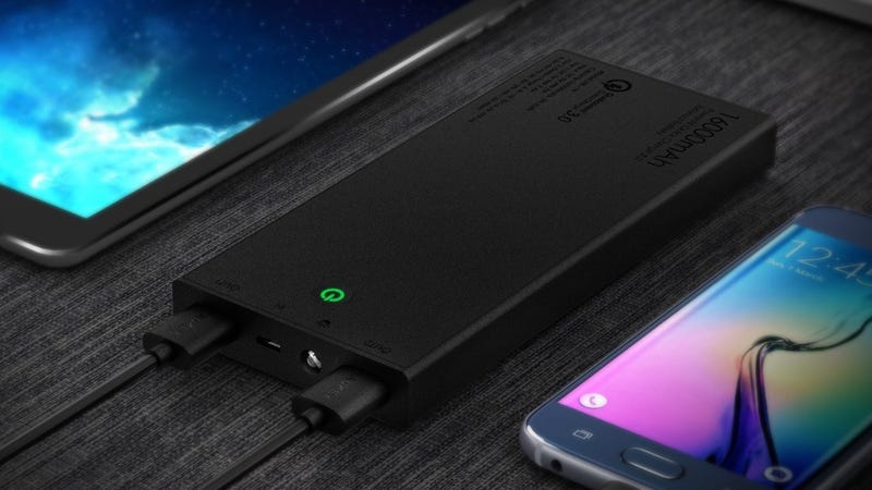 Aukey 16,000mAh Portable Charger, $23 with code 5ZREC35I