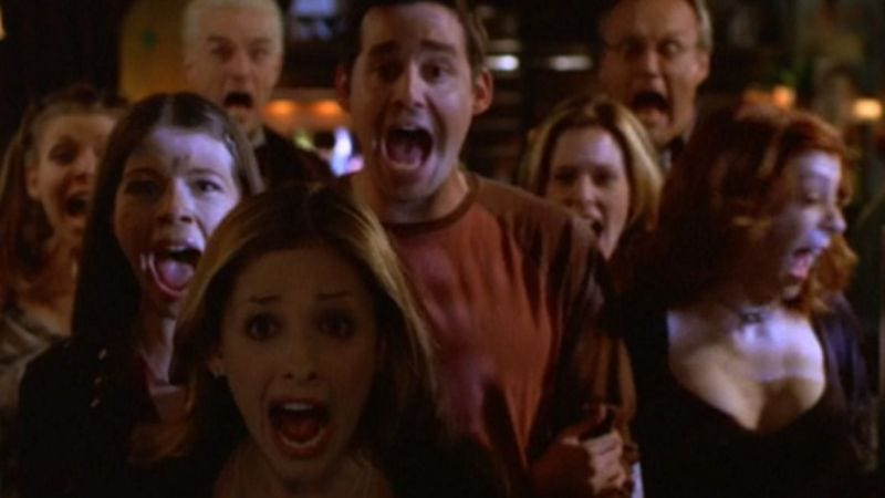 "Illustration for article titled Buffy / Angel: ""Tabula Rasa""/""Quickening"""