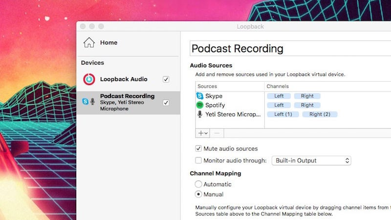 Loopback for Mac Manages Multiple Microphones and Other Audio Inputs