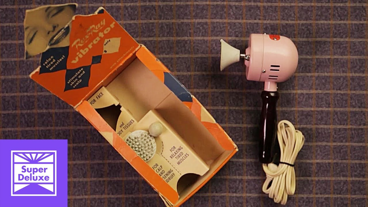 Here Is a Video on the History of Vibrators, and Yes, You Are Welcome - 웹