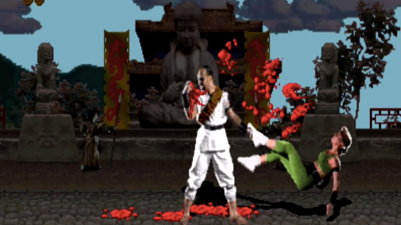 """Illustration for article titled Mortal Kombat writer promises R-rating, ample chances for characters to """"finish him"""""""