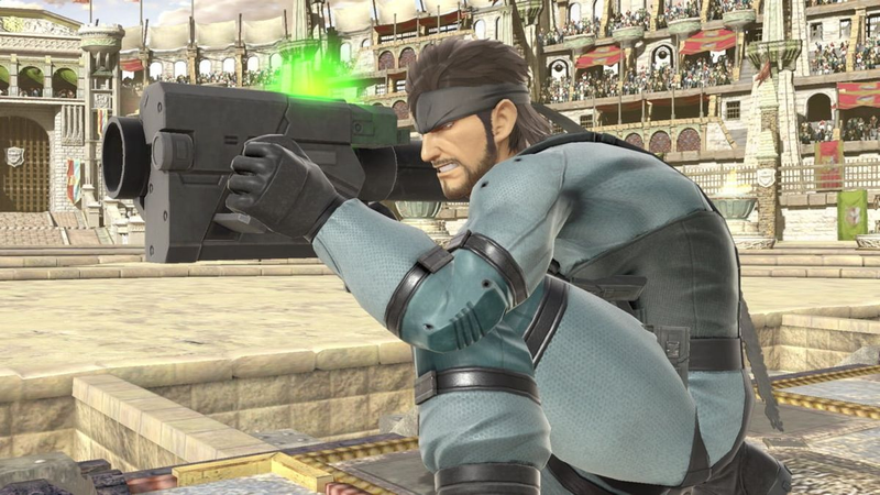 Fan-Made Smash Bros  Ultimate Level Features Dueling Snakes