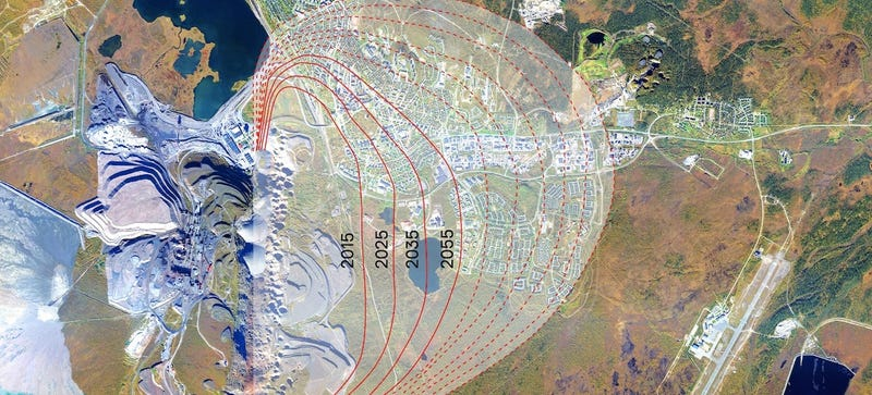 How Engineers Are Moving An Entire Town Two Miles Away - Town of sweden zoning map