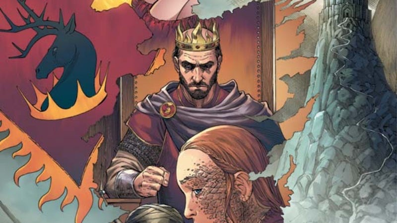 The Game Of Thrones Continues With A Stunning Graphic Novel For A