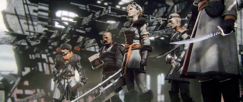 Illustration for article titled El nuevo juego de Bethesda es como Team Fortress, pero con espadas