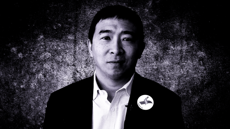 Illustration for article titled Andrew Yang Wants to Be America's First Ex-Goth President