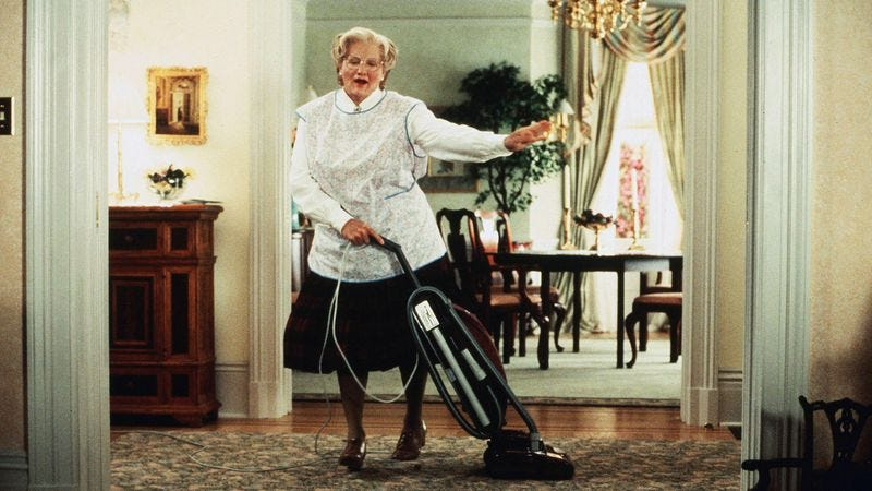 Illustration for article titled A Mrs. Doubtfire musical is in the works