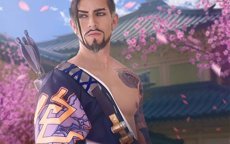 Illustration for article titled Hanzo Cosplay Is Very Beautiful