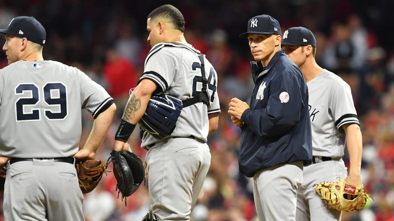 Bauer power: Indians baffle Judge, beat Yanks in ALDS opener