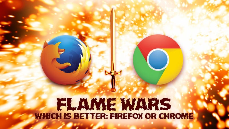 Illustration for article titled Chrome vs. Firefox: Your Best Arguments