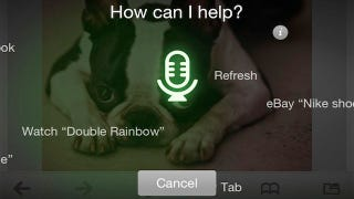 Illustration for article titled Dolphin Browser for iOS Unveils Nuance-Powered Voice Search