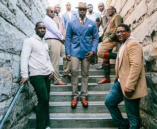 Charles F. Coleman Jr. (center) is the host of the new web series black brilliance 360.Instagram