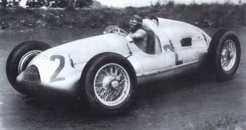 Illustration for article titled Auto Union Type D Race Car To Auction For $8 Million