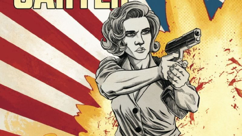 Illustration for article titled Exclusive Marvel preview: Peggy gets Asgardian assistance in Agent Carter #1