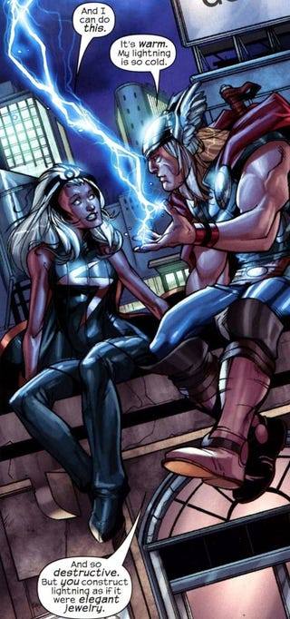 Illustration for article titled Storm and Thor