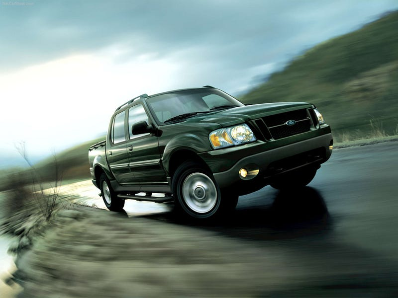 Illustration for article titled Forgetton Cars: Ford Explorer Sport Trac