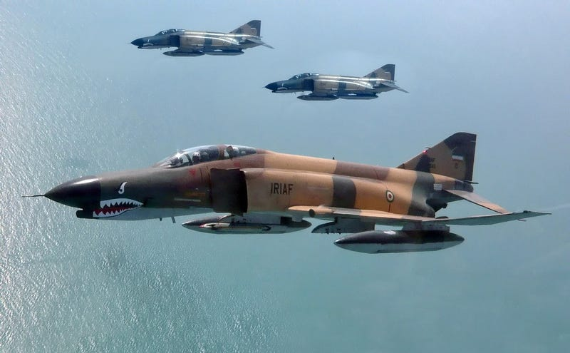Illustration for article titled Breaking: Iranian F-4 Phantoms Wade Into The Anti-ISIS Fight Over Iraq