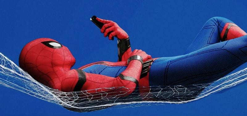 Sit back and read what people are tweeting about Spider-Man. Image: Sony