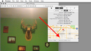 Illustration for article titled Strip Location Info from Photos with Preview on OS X