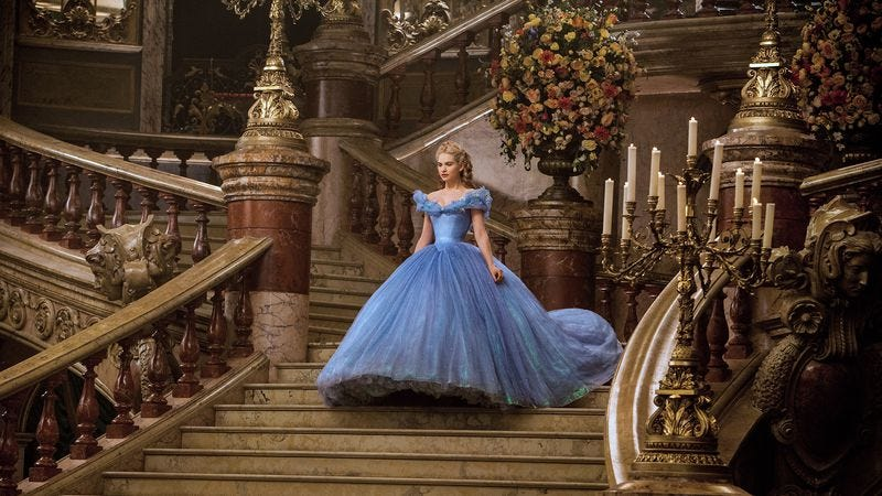 Illustration for article titled Disney's live-action Cinderella is pretty but empty