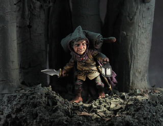 Illustration for article titled This Is A Painted Hobbit Miniature
