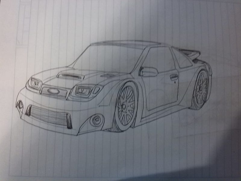 """Illustration for article titled Kind of a """"new"""" Sierra RS Cosworth"""