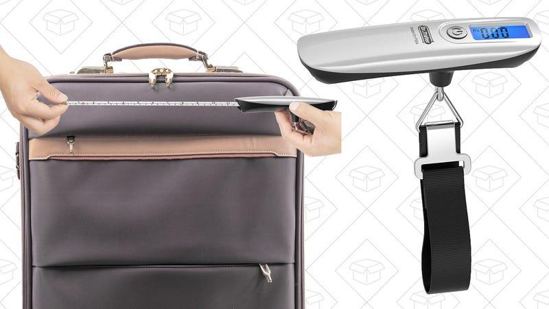 Báscula de equipaje | $6 | Amazon | Usa el código 3JTTU9J2Gráfico: Shep McAllister
