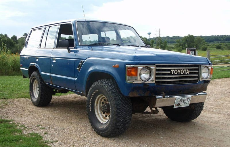 At $3,500, Would You Let This 1984 Toyota Land Cruiser Rust
