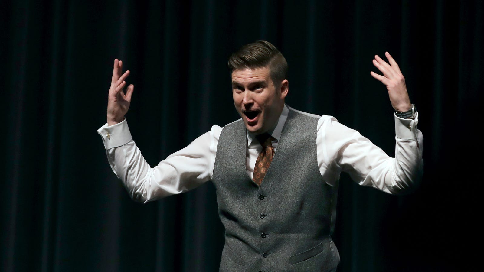 Richard Spencer Postpones College Tour No One Was Attending Anyway, Blames Antifa