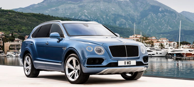 Illustration for article titled Bentley Just Built The Fastest Diesel SUV Ever
