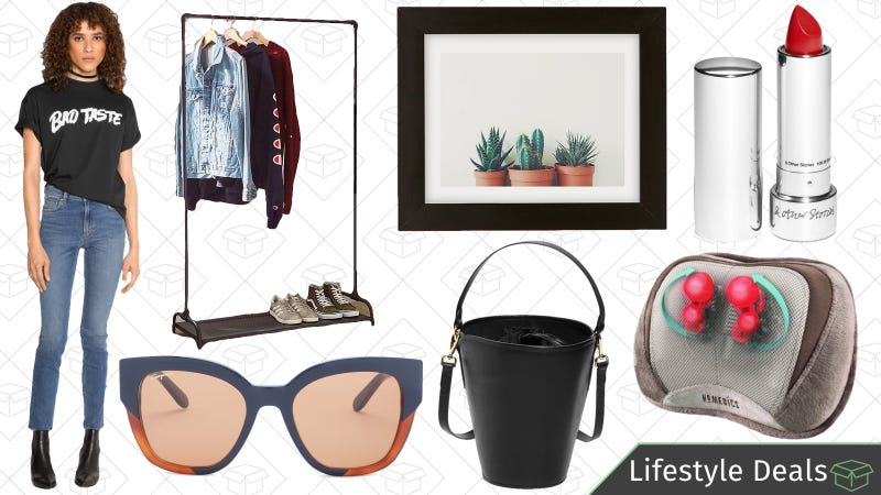 Illustration for article titled Tuesday's Best Lifestyle Deals: Massagers, & Other Stories, Designer Sunglasses, and More
