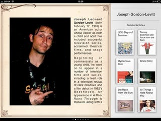 Illustration for article titled Discover iPad App Turns Wikipedia Entries into Magazine Articles