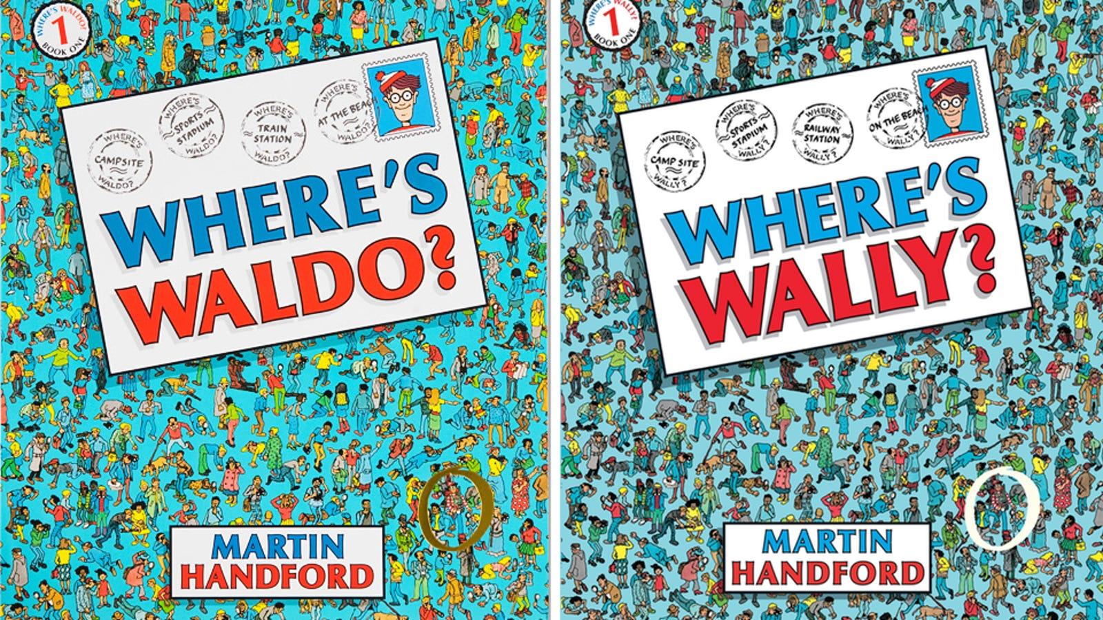 Waldo from Where's Waldo? has different names all over the world