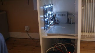 If You Your Pc In A Closed Cupboard It Can Get Pretty Hot Diy Weblog Ikea Hackers Shows Us How To Build Bit Of Cooling Into Our Desk