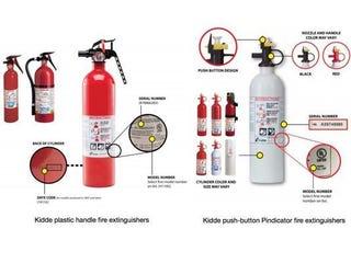 Illustration for article titled Kidde Fire Extinguisher Recall