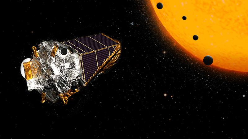 Artist's depiction of Kepler.