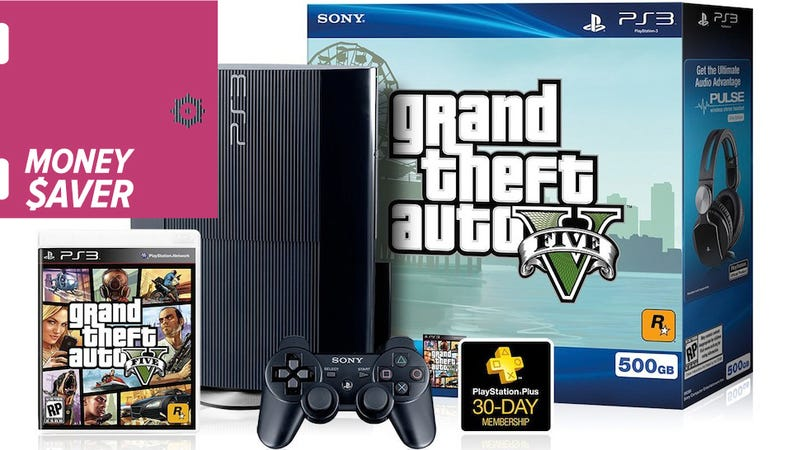 Illustration for article titled Deal: Grand Theft Auto V And A PS3 For $229 [It's Back]