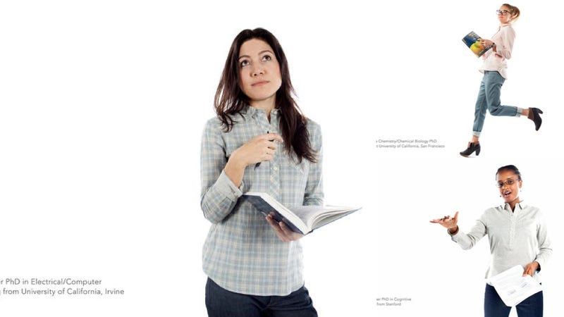 Illustration for article titled Betabrand Uses Female PhDs to Model Their Clothes