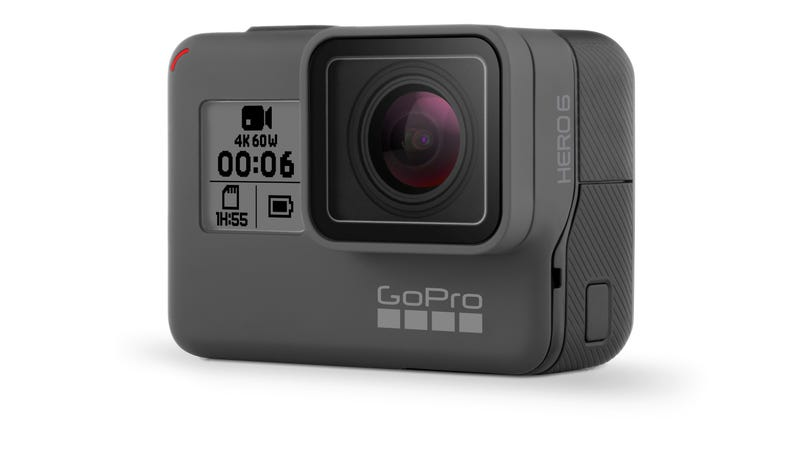 Illustration for article titled GoPro Just Upgraded the Brains of Its Best Camera With the Hero6 [Updated]