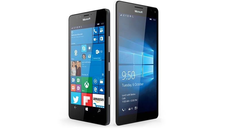 Illustration for article titled Microsoft's New Lumia 950 and 950 XL Are Windows 10-Chomping Smartphone Monsters