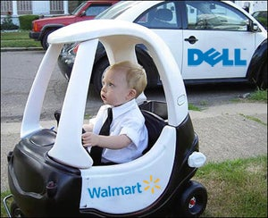 Illustration for article titled Wal-Mart Getting Its Own Geek Squad, Courtesy of Dell