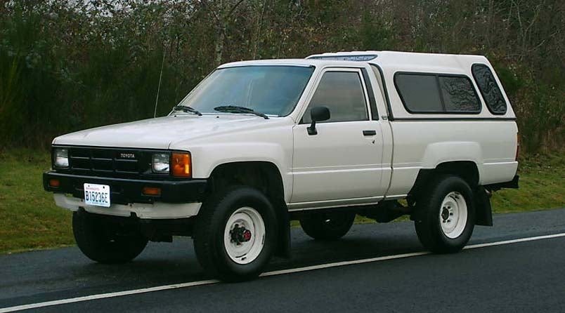 Nice Price Or Crack Pipe: 25K-Mile 1985 Toyota 4WD Truck ...