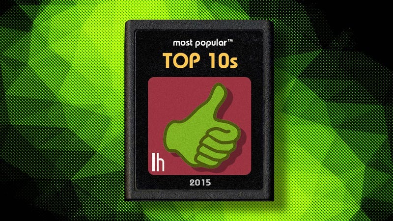 Illustration for article titled Most Popular Top 10s of 2015